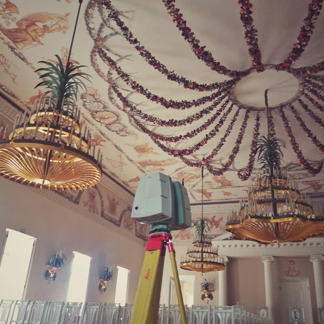 Фотография объекта - Розовый павильон в Павловске (интерьеры)