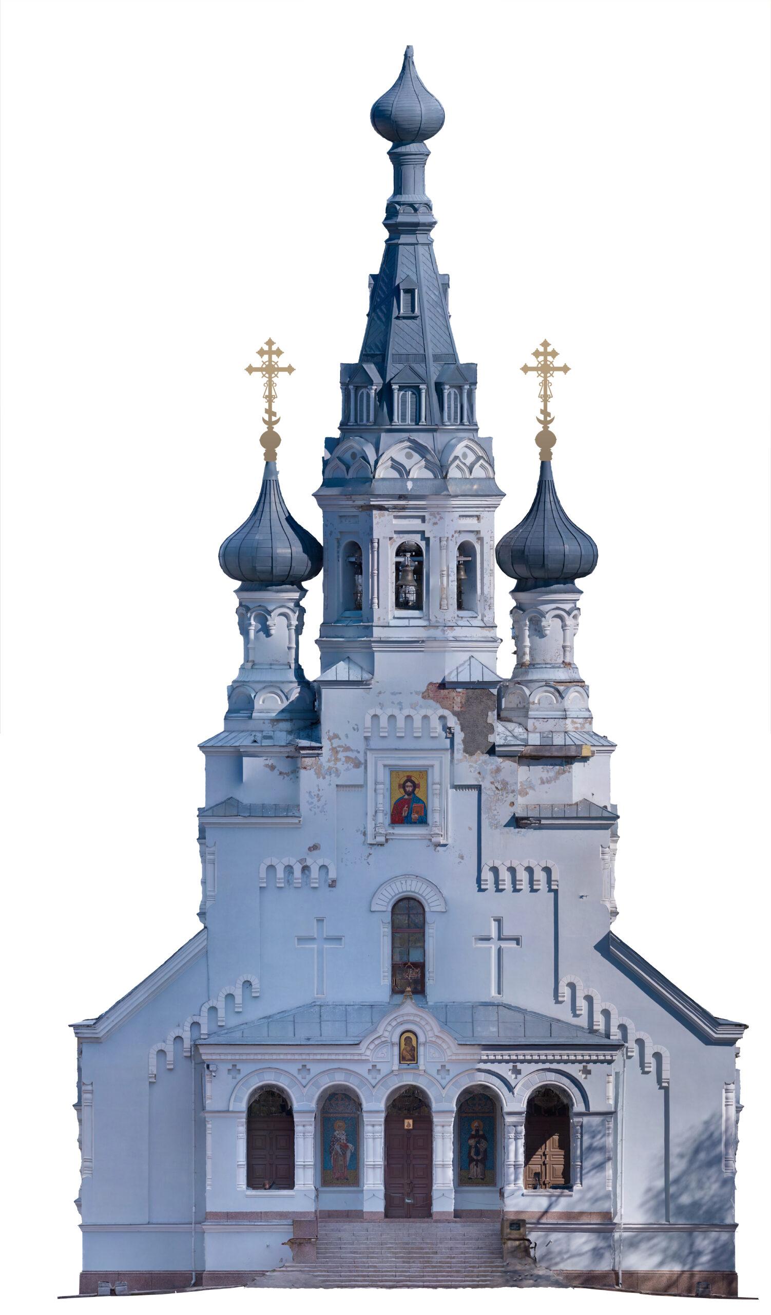 3д модель - Владимирский собор 01