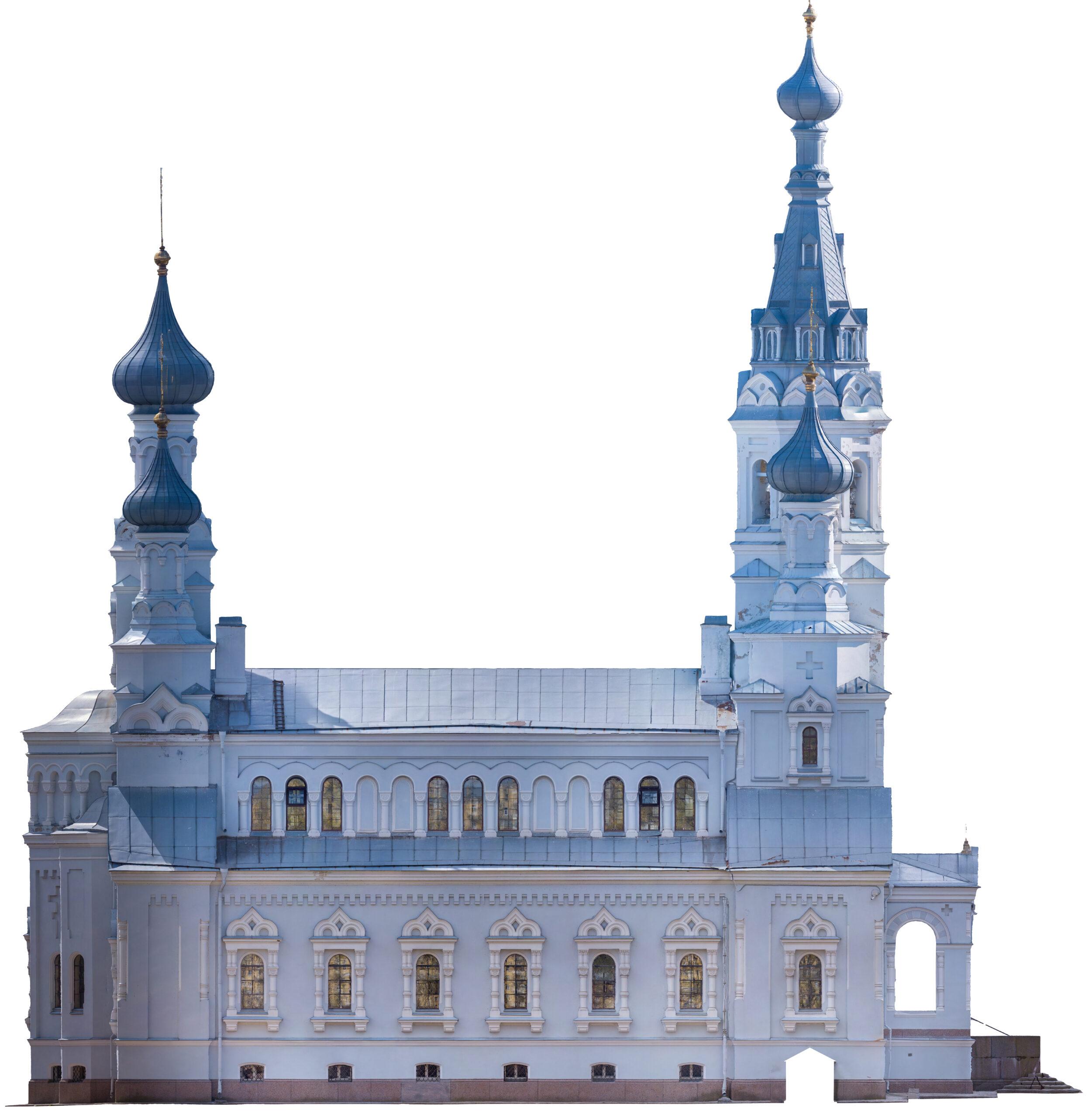 3д модель - Владимирский собор 02