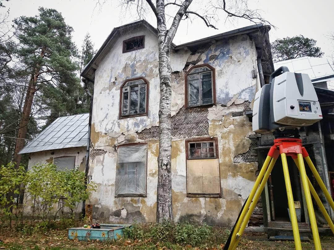 Исполнительная съемка для реставрации здания