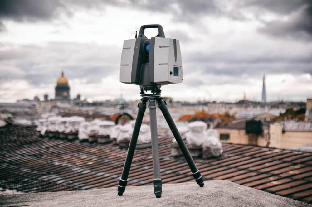 Обмерные работы и обследования с помощью лазерного сканирования