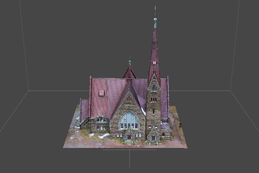 Обложка 3D модели зданий