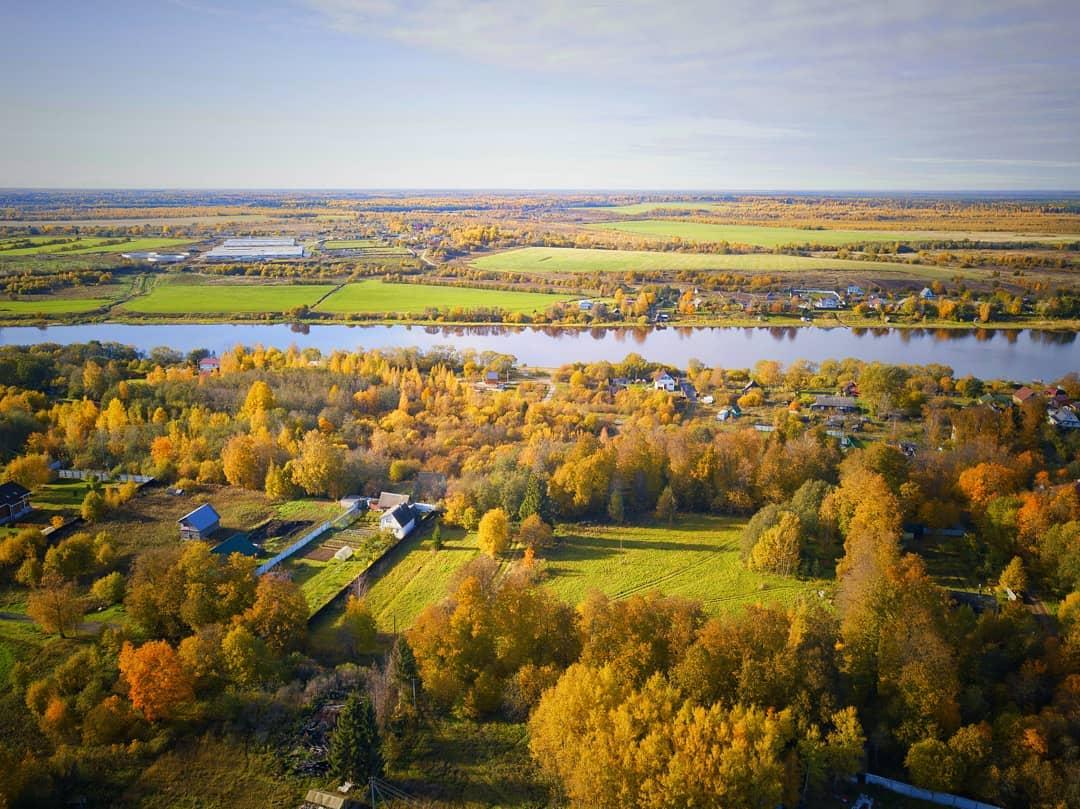 Фотография объекта - Полет над деревней Бабино