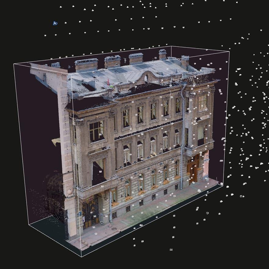 Результаты обследования фасада особняка Нейдгартов