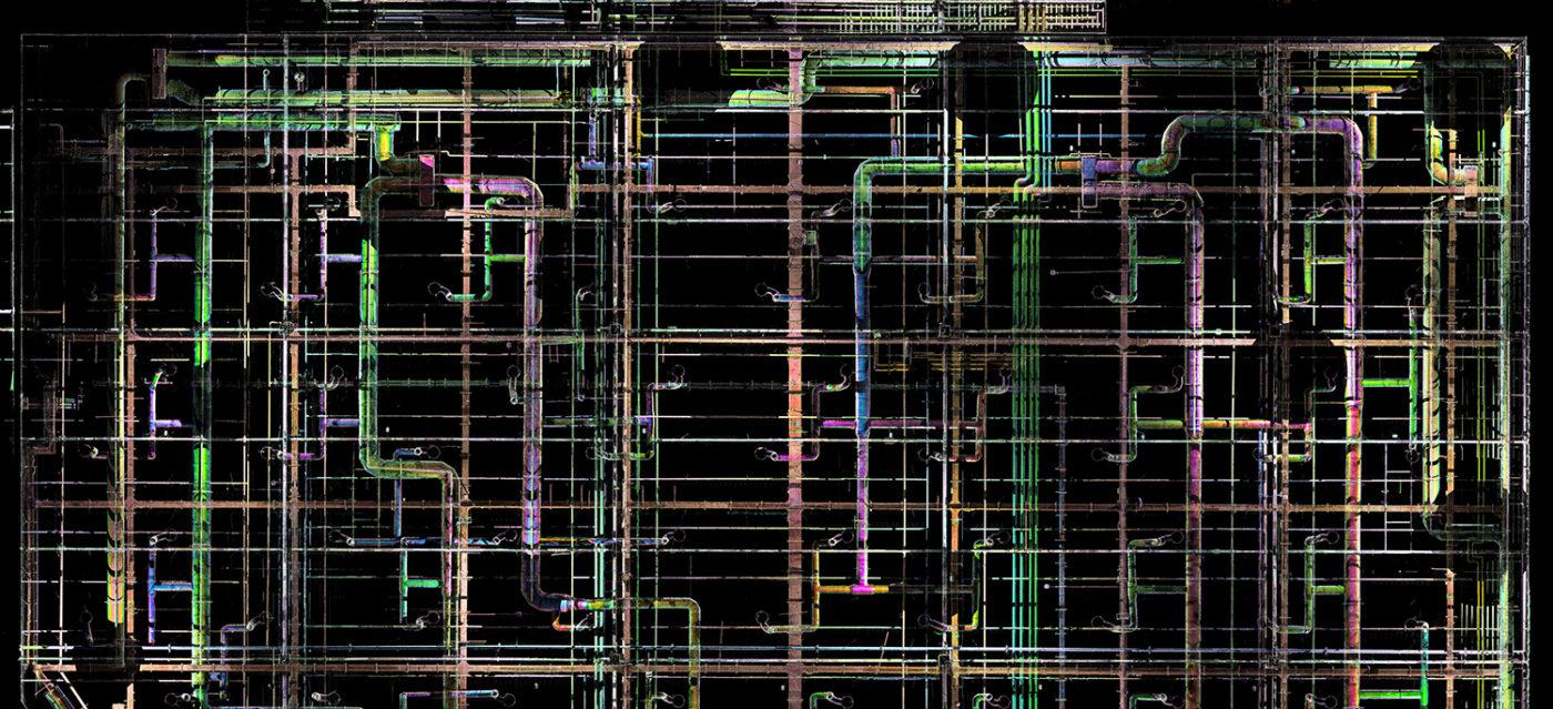План металлических конструкций ТРК Мега Дыбенко