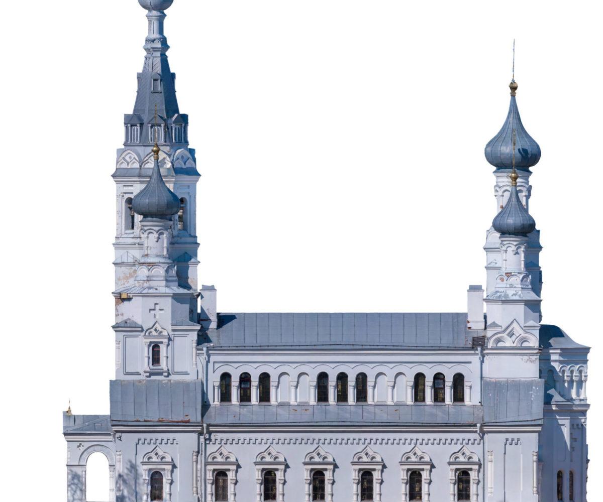 3д модель - Владимирский собор 03