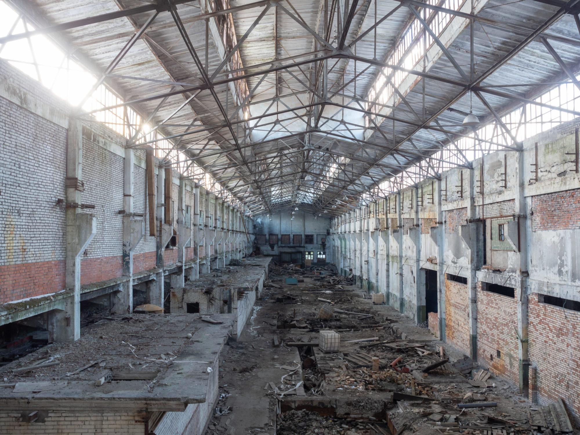Фотография Канатного цеха завода Красный Гвоздильщик (интерьеры)