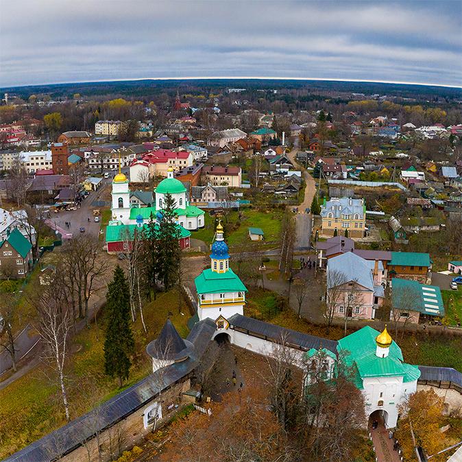 Обложка проекта - Псково-Печерский монастырь