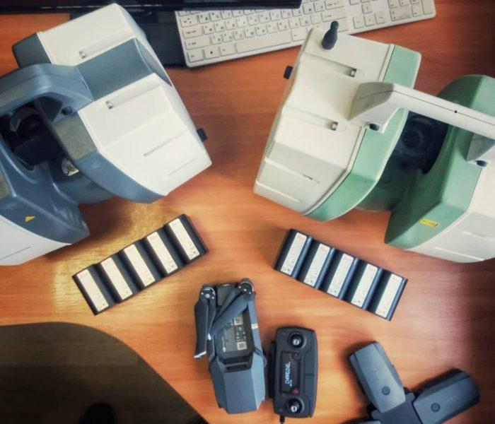 Оборудование для лазерного сканирования компании Союз экспертов Северо-Запада