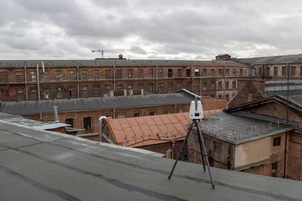 Лазерное сканирование в строительстве