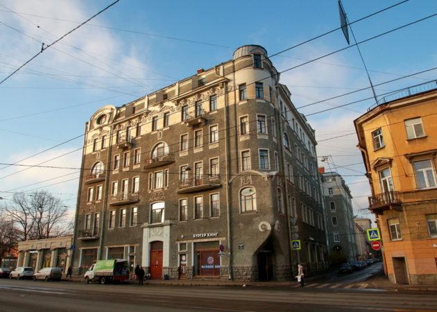 Фото «Дом Штальман, Загородный проспект, 45» автора Дмитрия Ратникова