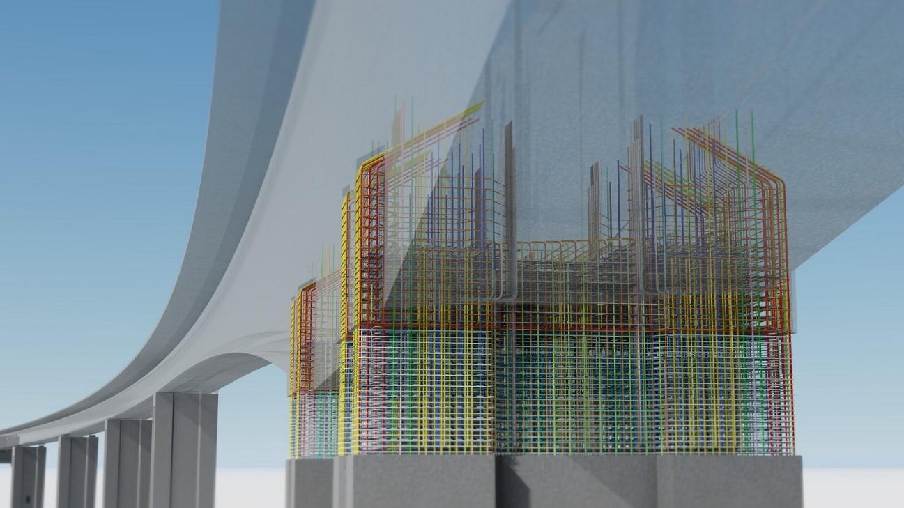 BIM-модель моста Рандсельва